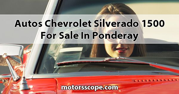 Autos Chevrolet Silverado 1500 for sale in Ponderay
