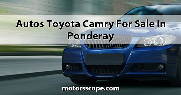 Autos Toyota Camry for sale in Ponderay