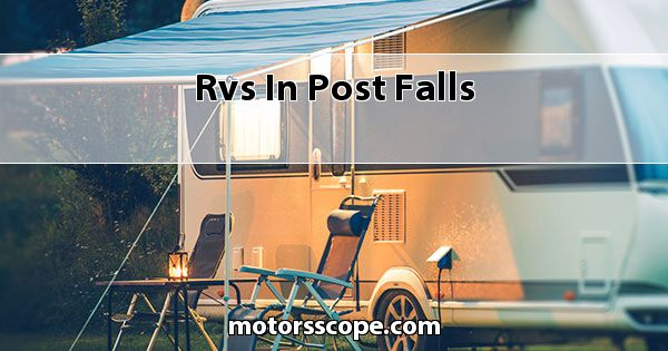 RVs  in Post Falls