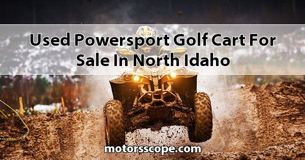 Used Powersport Golf Cart  for sale in North Idaho